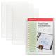 Папки-файлы перфорированные, A4, ERICH KRAUSE, комплект 10 шт., гладкие, верхний клапан, 0,03 мм