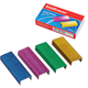 Скобы для степлера ERICH KRAUSE, №24/<wbr/>6, 1000 шт., цветные