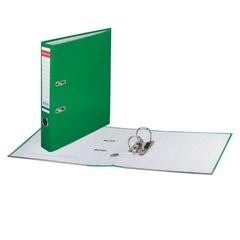 Папка-регистратор ERICH KRAUSE «Стандарт», с покрытием из ПВХ, 50 мм, зеленая