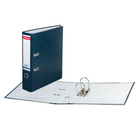 Папка-регистратор ERICH KRAUSE «Бизнес», с покрытием из ПВХ, 70 мм, синяя