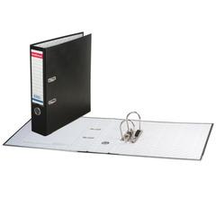 Папка-регистратор ERICH KRAUSE «Бизнес», с покрытием из ПВХ, 70 мм, черная