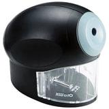 Точилка электрическая KW-trio, питание от сети 220 В, корпус овальный, цвет черный