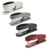Степлер KW-trio «Trio Half-strip» №24/<wbr/>6, до 20 листов, ассорти (черный, красный, темно-серый, светло-серый)
