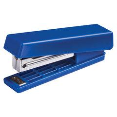 Степлер KW-trio N10, до 12 листов, ассорти (черный, красный, синий, светло-серый)
