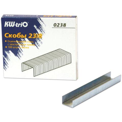 Скобы для степлера KW-trio №23/8, 1000 шт.