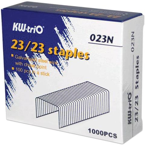 Скобы для степлера KW-trio №23/23, 1000 шт.