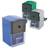 Точилка механическая KW-trio, металлический механизм, пластиковый корпус, ассорти (синяя, зеленая, серая)
