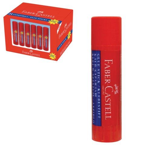 Клей-карандаш FABER-CASTELL, 10 г, картонный дисплей