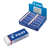 Резинка стирательная PILOT, прямоугольная, 60×20×12 мм, белая, виниловая, картонный держатель