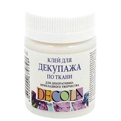 Клей для декупажа по ткани «Декола», 50 мл, в банке