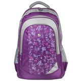 Рюкзак BRAUBERG для старшеклассников/<wbr/>студентов/<wbr/>молодежи, «Цветочный узор», 25 литров, 30×18×49 см