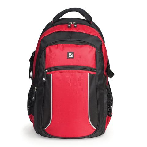 Рюкзак BRAUBERG (БРАУБЕРГ) для старшеклассников/<wbr/>студентов/<wbr/>молодежи, «Пламя», 20 литров, 30×13×44 см