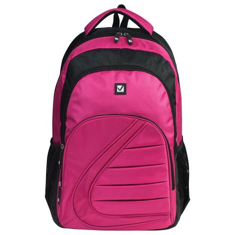 Рюкзак BRAUBERG (БРАУБЕРГ) для старшеклассников/<wbr/>студентов/<wbr/>молодежи, «Спорт», 25 литров, 34×15×46 см