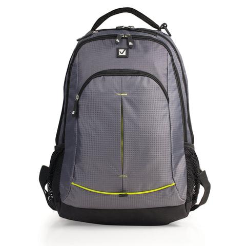 Рюкзак BRAUBERG (БРАУБЕРГ) для старшеклассников/<wbr/>студентов/<wbr/>молодежи, «Дельта», 30 литров, 33×18×49 см