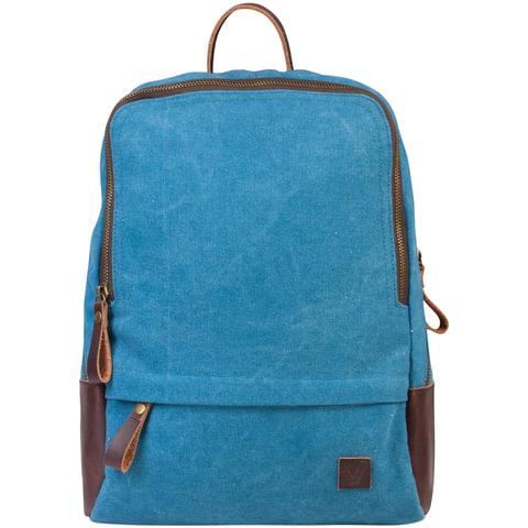 """Рюкзак BRAUBERG для старшеклассников/студентов/молодежи, холщовый, """"Джинс"""", 12 литров, 32х25х11 см"""