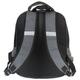 Рюкзак ПИФАГОР для учеников начальной школы, 19 л, серо-черный, «Оранжевая машина», 38×30×14 см