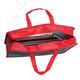 Папка-сумка BRAUBERG (БРАУБЕРГ), А4, на молнии с ручками, пластик, цветная печать, для мальчиков, джип, 33×26 см