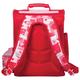 Ранец жесткокаркасный BRAUBERG (БРАУБЕРГ) для учениц начальной школы, 20 л, розово-красный, «Мишка», 38×29×16 см
