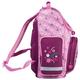 Ранец жесткокаркасный BRAUBERG (БРАУБЕРГ) для учениц начальной школы, 20 л, розово-бордовый, «Щенок», 38×29×16 см