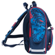 Ранец жесткокаркасный BRAUBERG (БРАУБЕРГ) для учеников начальной школы, 17 л, сине-голубой, «Внедорожник», 34×26×16 см