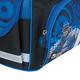 Ранец жесткокаркасный BRAUBERG (БРАУБЕРГ) для учеников начальной школы, 17 л, черно-синий, «Робот», 34×26×16 см