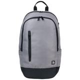 Рюкзак BRAUBERG (БРАУБЕРГ) B-HB1605 для старшеклассников/<wbr/>студентов, 28 л, «Серый с черной молнией», 50×31×20 см