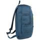 Рюкзак BRAUBERG (БРАУБЕРГ) B-HB1606 для старшеклассников/<wbr/>студентов, 28 л, «Синий с желтой молнией», 50×31×20 см