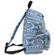 Рюкзак BRAUBERG (БРАУБЕРГ) B-HB1607 для старшеклассниц/<wbr/>студенток, 20 л, голубой, ткань — коттон, «Нордик», 41×32×14 см