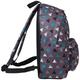 Рюкзак BRAUBERG (БРАУБЕРГ) B-HB1614 для старшекласников/<wbr/>студентов, 20 л, «Треугольники», серый, плотное дно, 41×32×14 см