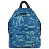 Рюкзак BRAUBERG (БРАУБЕРГ) B-HB1618 для старшеклассников/<wbr/>студентов/<wbr/>молодежи, 20 л, «Камуфляж синий», плотное дно, 41×32×14 см
