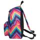 Рюкзак BRAUBERG (БРАУБЕРГ) B-HB1619 для старшеклассников/<wbr/>студентов/<wbr/>молодежи, 20 л, «Цветной Регги», плотное дно, 41×32×14 см