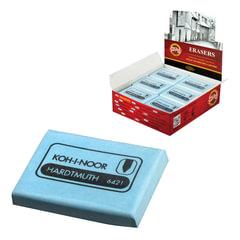 Ластик-клячка KOH-I-NOOR, 47×36×10 мм, мягкий, голубой