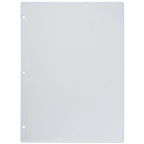 Папки-файлы перфорированные, А4, комплект 10 шт., для МЕНЮ, 3 отверстия (расстояние между отверстиями 108 мм), 0,12 мм, ДПС