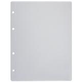 Папка-файл перфорированная, А5, 4 отверстия (расстояние между отверстиями 45/<wbr/>65/<wbr/>45 мм), 0,12 мм, «ДПС»