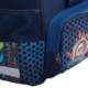 Ранец жесткокаркасный BRAUBERG (БРАУБЕРГ) для учеников начальной школы, 20 л, синий, «Райдер», 35×27×16 см