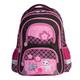 Рюкзак BRAUBERG (БРАУБЕРГ), с EVA спинкой, для учениц начальной школы, 19 л, розово-черный, «Котята», 38×30×14 см