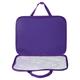 Папка-сумка BRAUBERG PREMIUM (БРАУБЕРГ ПРЕМИУМ), A4, на молнии с ручками, ткань, для девочек, шик, 33×26 см