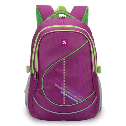 """Рюкзак BRAUBERG для старших классов/студентов/молодежи, """"Крокус"""", 30 литров, 46х34х18 см"""