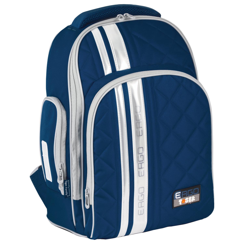 6952ecd2de16 ... Рюкзак TIGER FAMILY (ТАЙГЕР) для средней школы, универсальный,  темно-синий, ...