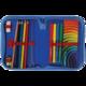Пенал TIGER FAMILY (ТАЙГЕР), с наполнением, 1 отделение, 16 предметов, «Футбол», 20×14×4 см