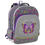 Рюкзак ERICH KRAUSE для учениц начальной школы, 16 л, «Fairy Butterfly», 37×31×14 см