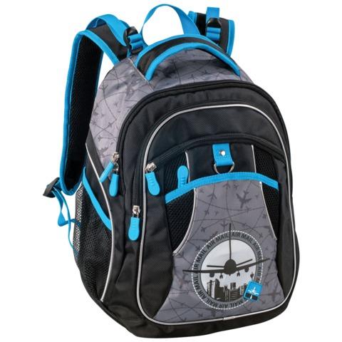 Рюкзак ERICH KRAUSE для учеников начальной школы, 16 л, «Air Mail», 39×30×14 см
