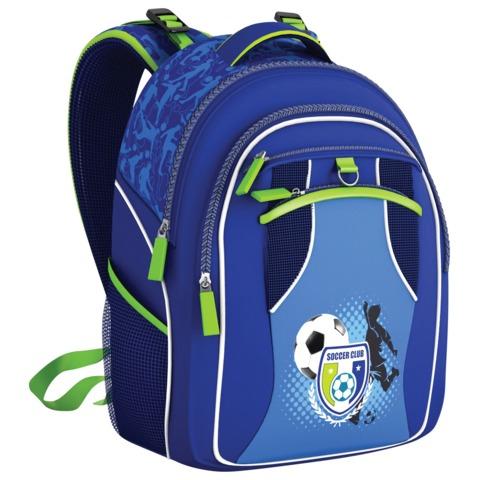 Рюкзак ERICH KRAUSE для учеников начальной школы, 20 л, «Soccer Club», 42×30×14 см