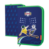 Пенал-книжка 1 отделение, ERICH KRAUSE, для учеников начальной школы, «Football», 21×14 см
