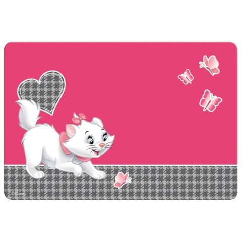 Коврик-подкладка для письма ERICH KRAUSE, настольный, А3, пластик, цветная печать, для девочек, «Cat Marie»