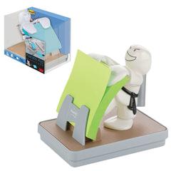 Диспенсер для блоков (стикеров) POST-IT «Дзюдо», настольный + блок 76×76 мм, 100 л.