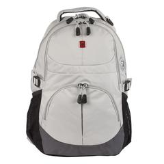 Рюкзак WENGER (Швейцария), универсальный, серый, 22 литра, 33×15×45 см