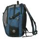 Рюкзак WENGER (Швейцария), универсальный, 39 л, сине-серый, 35×23×48 см