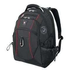 Рюкзак WENGER, универсальный, черный, функция ScanSmart, 38 л, 34×23×48 см