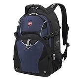 Рюкзак WENGER (Швейцария), универсальный, 32 л, черно-синий, 36×19×47 см